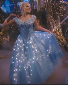 Witney as Cinderella