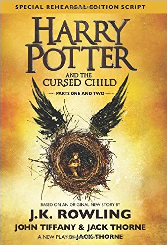 Harry Potter Cursed Child Cover