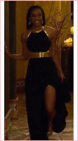 Rachel_Episode 2_Rose Ceremony Dress